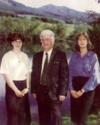 Founding Director Ford Carruthers and his team in Perthshire